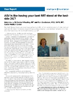 Interview with Denise Wheatley, RRT and Ron Sanderson, MEd, DrPH, RRT, Castle Medical Center