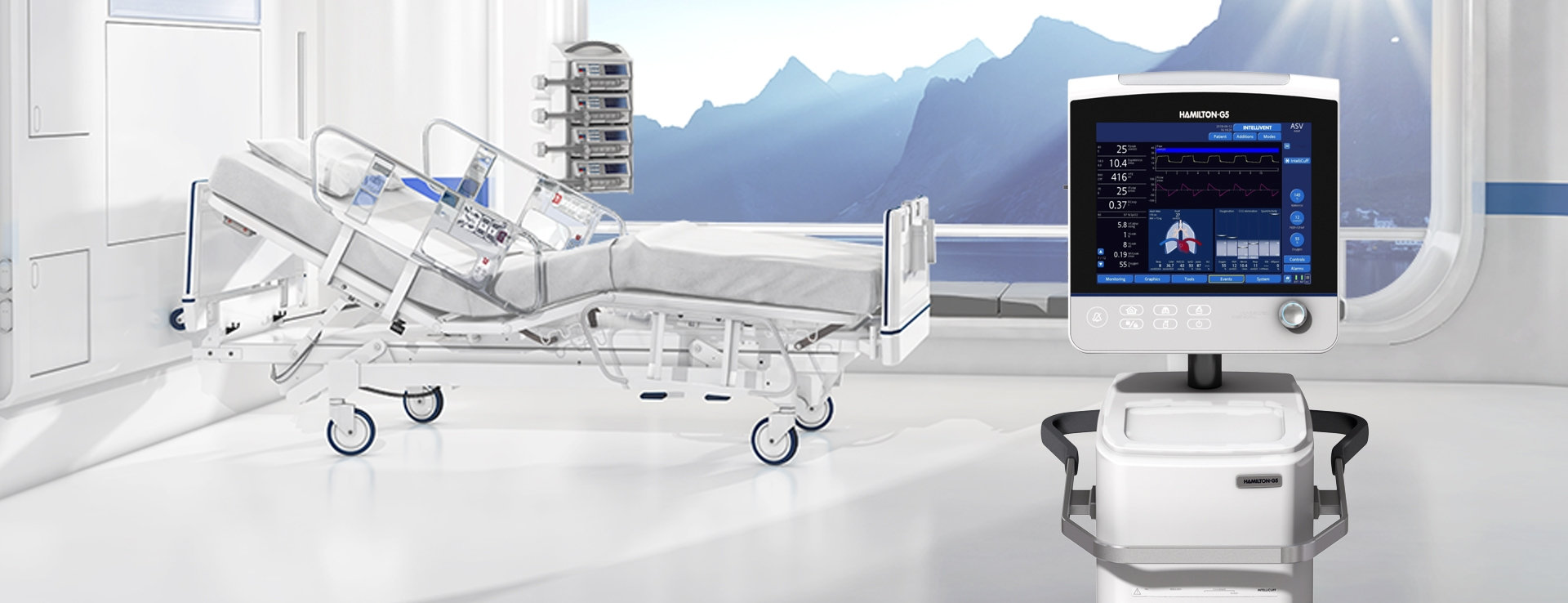 HAMILTON-G5 mechanical ventilator | Hamilton Medical